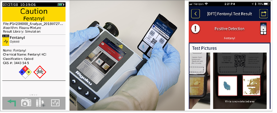 Fentanyl ID App Note Combined Graphic