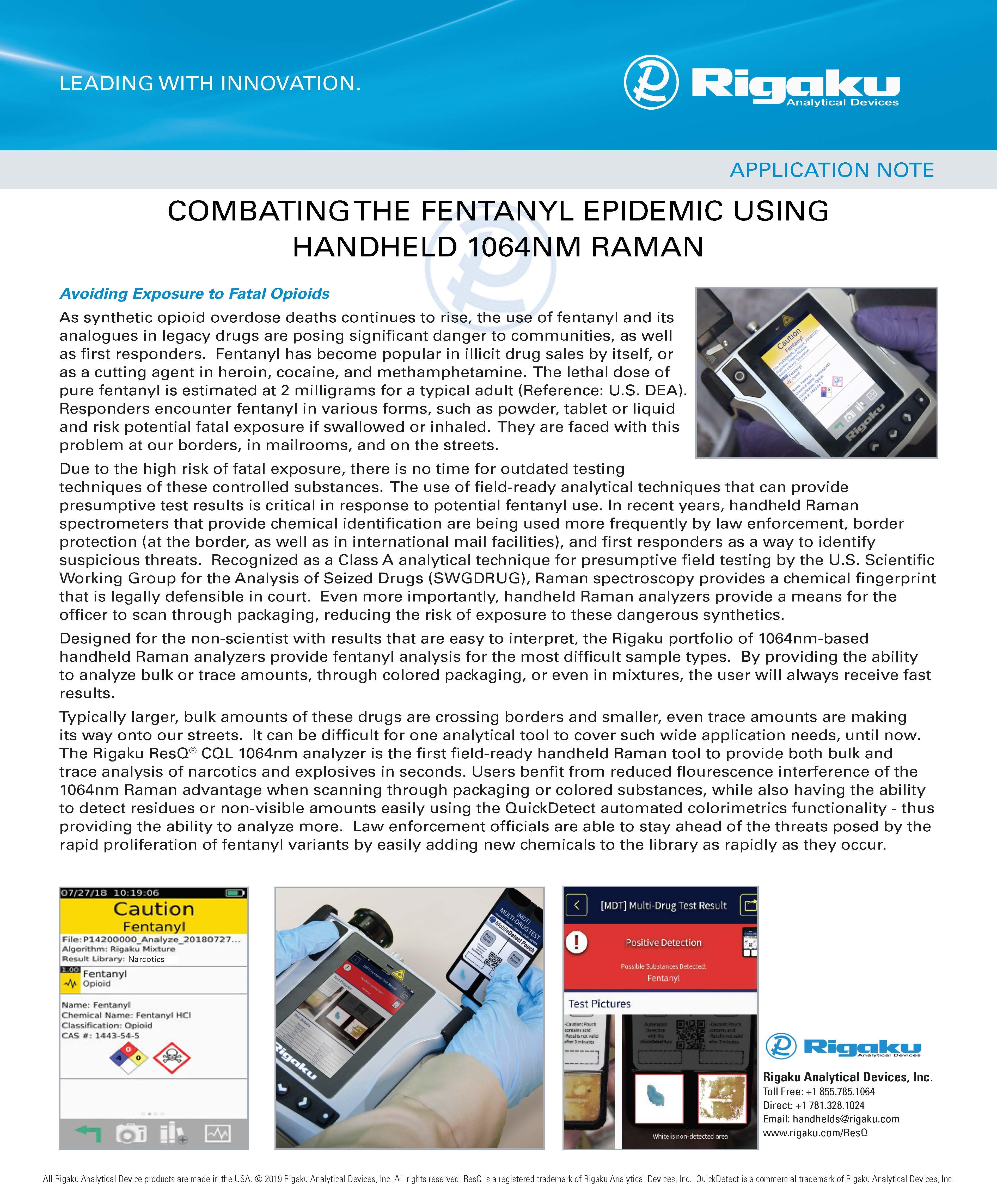 Fentanyl App Note
