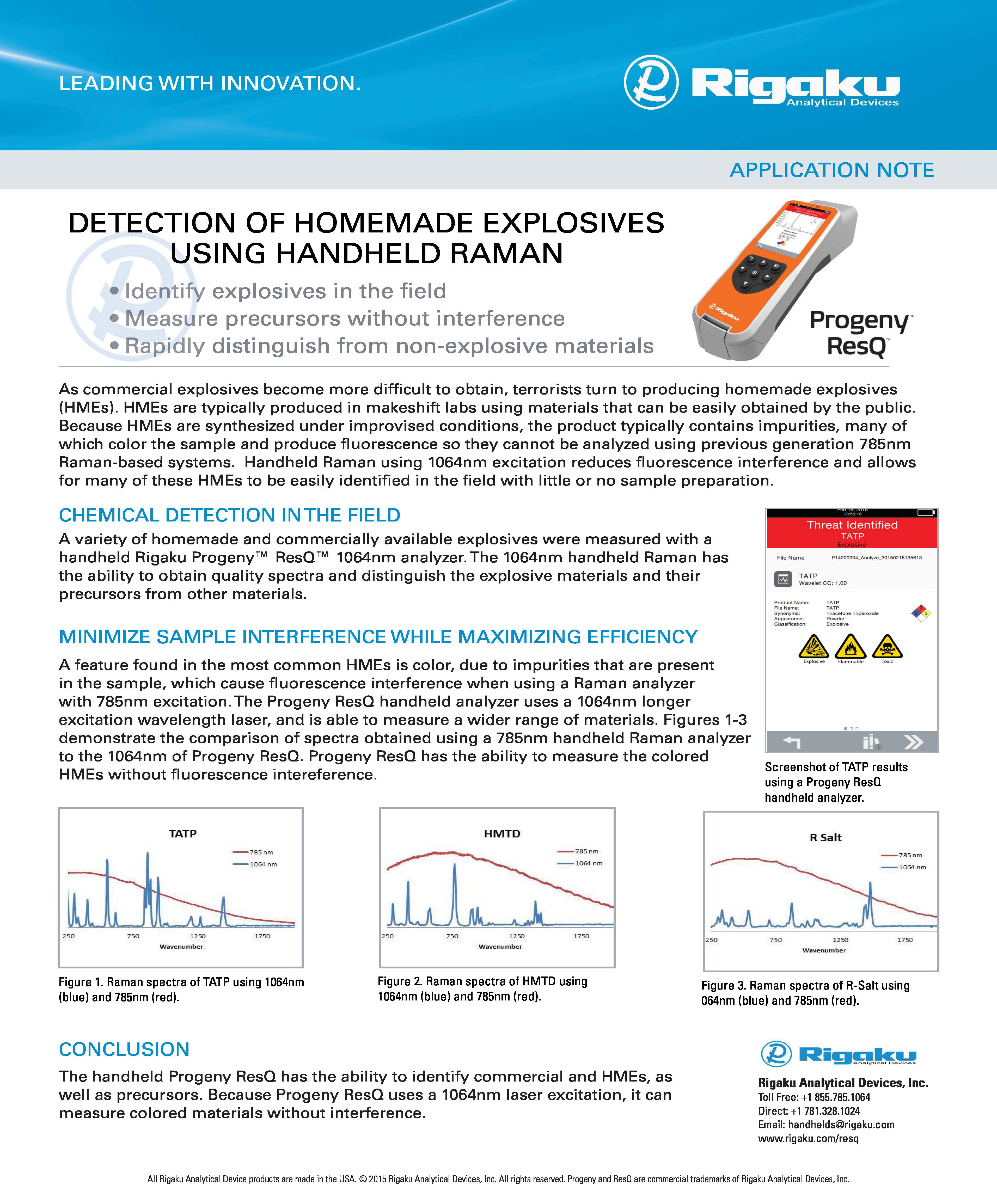 Homemade Explosives App Note 2015Dec30