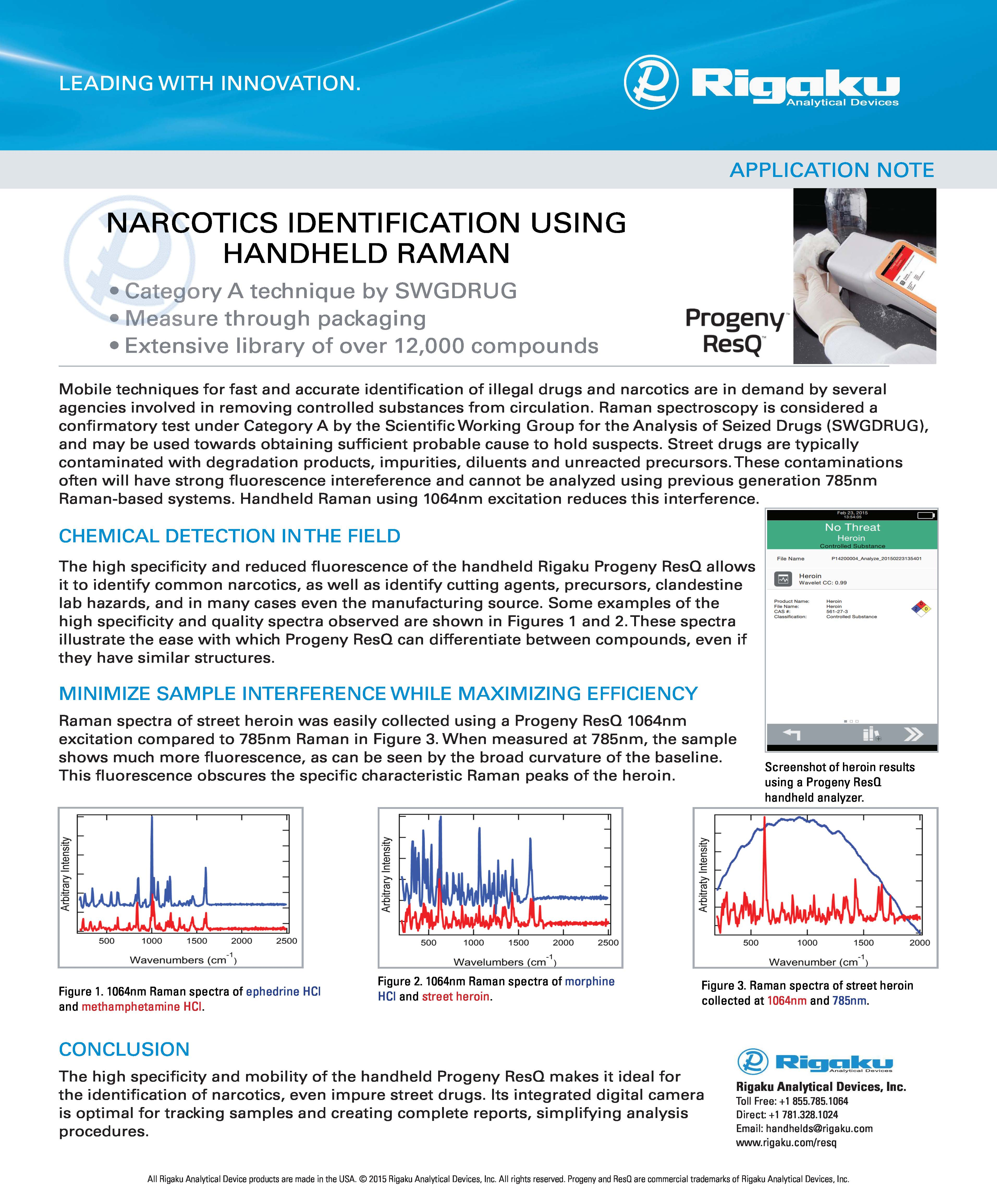 Narcotics ID App Note 2015Aug26