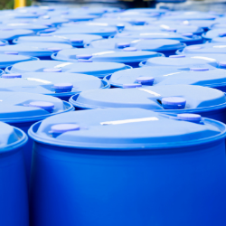 Pharma RMID Blue Barrels